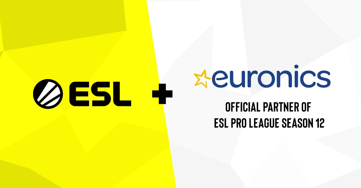 ESL ANNOUNCES EURONICS GROUP AS OFFICIAL PARTNER OF ESL PRO LEAGUE SEASON 12