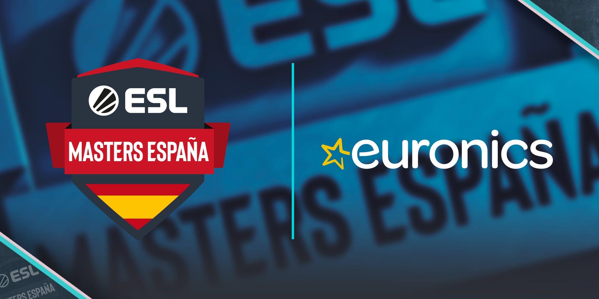 Euronics, partner oficial de ESL Masters CS:GO
