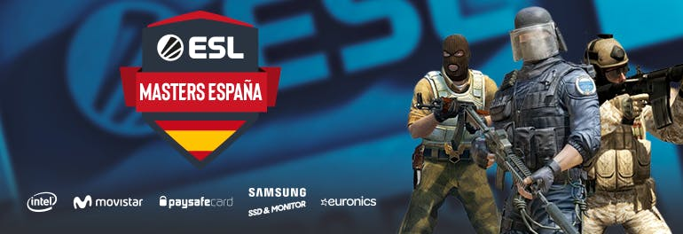 Madrid acogerá la Gran Final de ESL Masters CS:GO Temporada 6