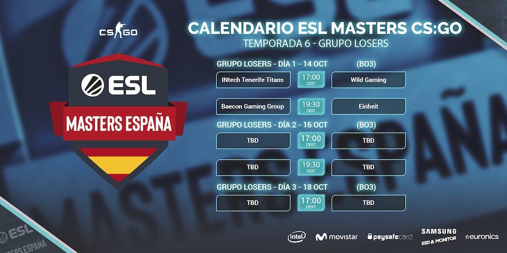 Calendario del Grupo de Losers