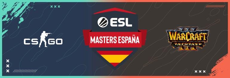ESL Masters España T7 llega a su fin. Vive las finales más emocionantes desde casa